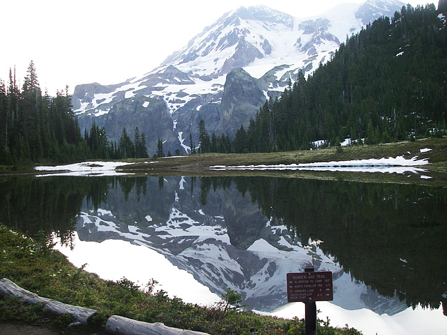Reflection Lake is one of the most iconic spots on the Wonderland Trail
