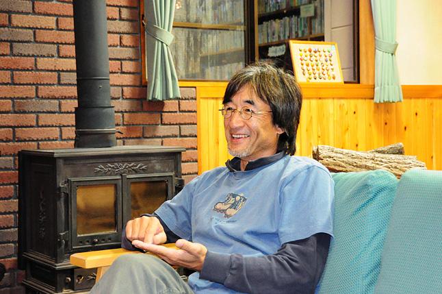 故・加藤則芳氏。ロングトレイルを日本の文化の中に根付かせるべく尽力した。『ジョン・ミューア・トレイルを行く』『メインの森を目指してーアパラチアン・トレイル3500㎞を歩く』(いずれも平凡社)など、著書多数。