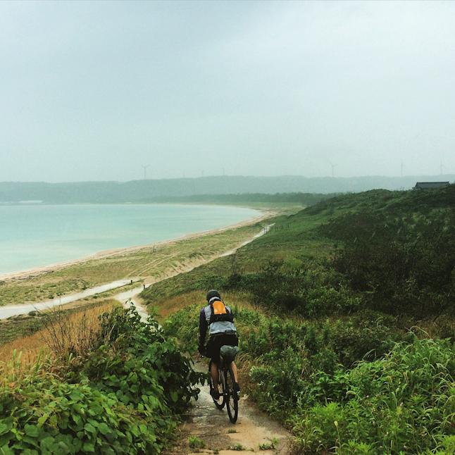 能登半島バイクパッキング。