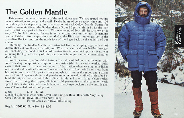 Catalog 1977 Golden Mantle