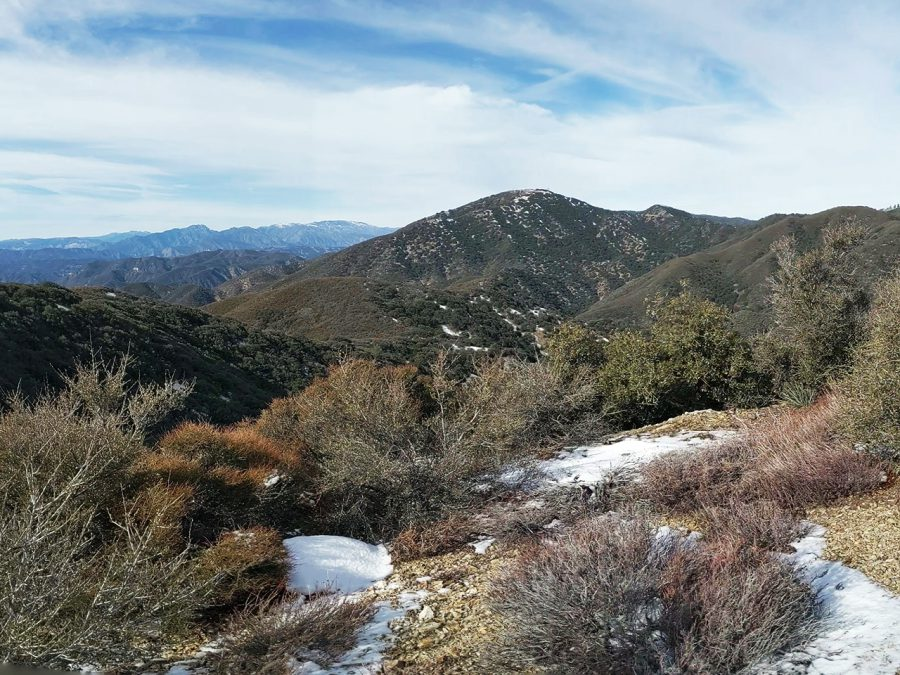 02_The Sierra Palone mountains on the PCT near mile 500 in January