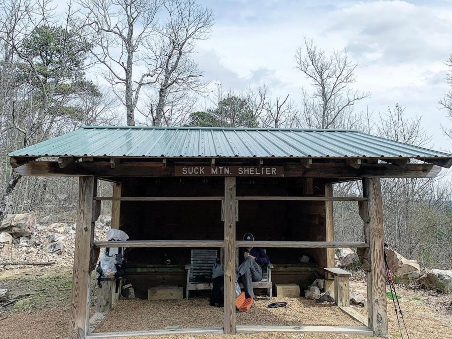 A 3-sided shelter on the Ouachita Trail. photo by Naomi Hudetz (1)