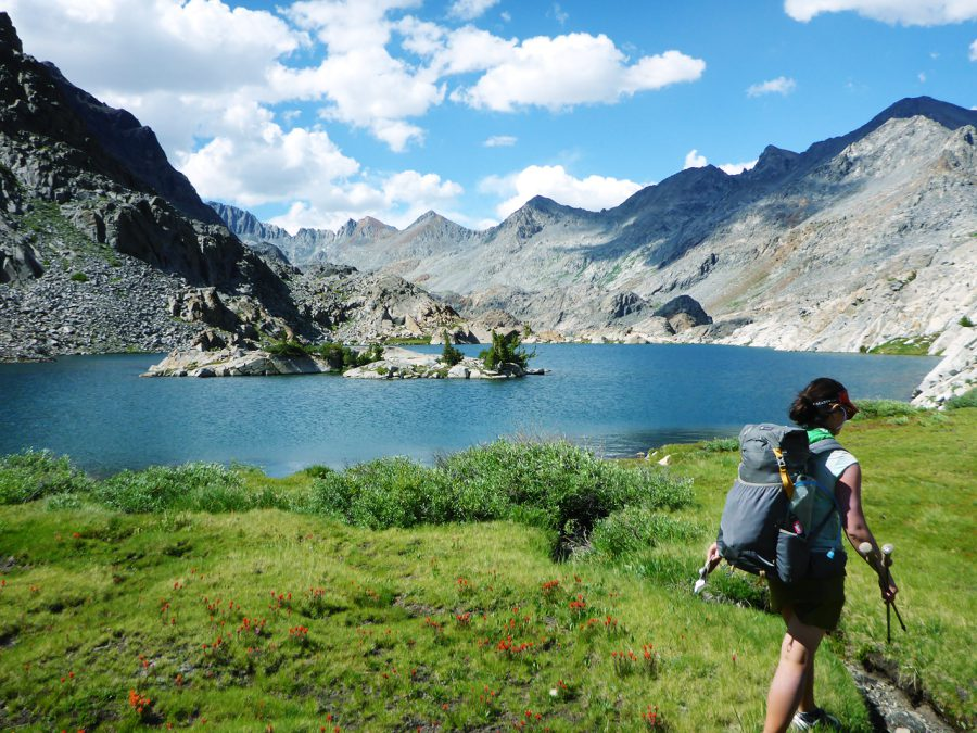 LIZ13_11_The Sierra is one of the most beautiful parts of the PCT, but requires special gear and planning