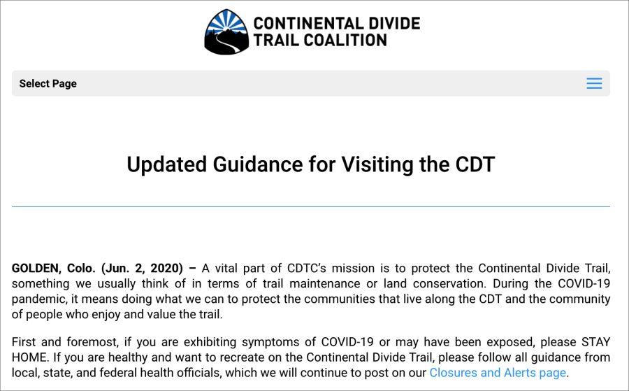 CDT Covid19